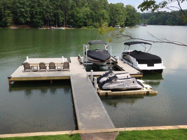 Lake Martin Dock Stationary Dock 3