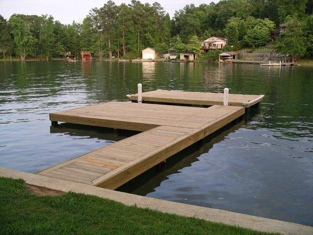Lake Martin Dock Stationary Dock 4