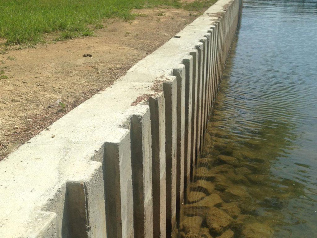Concrete Seawalls Lake Martin Dock Company